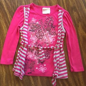 Other - Really cute pink girls top!